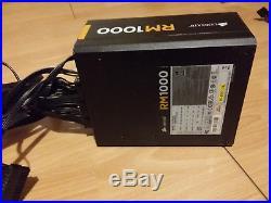 Corsair RM1000 1000w Fully Modular Power Supply Unit