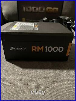 Corsair RM1000 Power Supply Fully Modular 1000 Watt