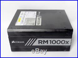 Corsair RM1000X 1000W 80 Plus Gold Full Modular Used