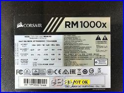 Corsair RM1000X 1000W 80 Plus Gold Fully Modular Power Supply