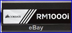 Corsair RM1000i PC-Netzteil (Voll-Modulares, 80 Plus Gold, 1000 Watt, EU)