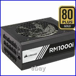 Corsair RM1000i PC-Netzteil Voll-Modulares Kabelmanagement, 80 Plus Gold, 850 W
