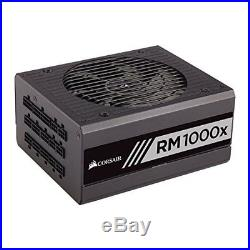 Corsair RM1000x 1000 W 80 Plus Gold Certified Modular Power Supply (PSU)
