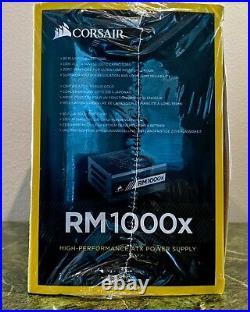 Corsair RM1000x 1000W 80 Plus Gold Fully Modular Power Supply (CP-9020094-NA)
