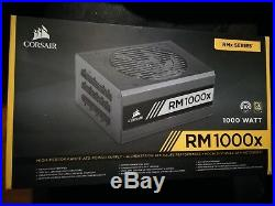 Corsair RM1000x 1000W Alimentation modulaire de pc 80 PLUS GOLD