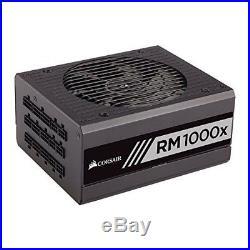 Corsair RM1000x 1000W Fully Modular ATX 80 PLUS Gold PC Computer Power Supply