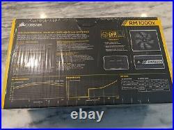 Corsair RM1000x 1000W PSU Fully Modular Power Supply Unit NEW SEALED