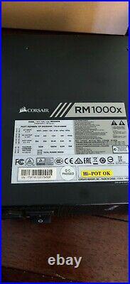 Corsair RM1000x 1000W Power supply Used