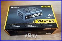 Corsair RM1000x, 80 Plus Gold, Excellent Condition, Original Packaging & Cables