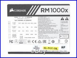 Corsair RM1000x Modular ATX Power Supply 80 Plus Gold Certified