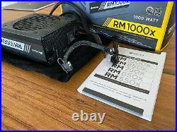 Corsair RM1000x Netzteil 1000W 80PLUS Gold Top Zustand Garantie