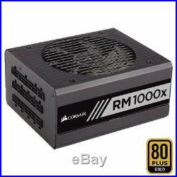 Corsair RM1000x PC-Netzteil Voll-Modulares, 80 Plus Gold, 1000 Watt, EU