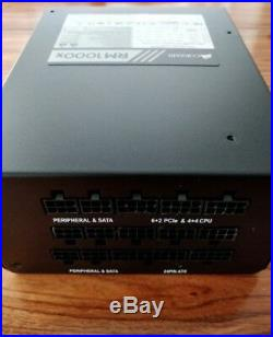 Corsair RM1000x PSU 1000 Watt Fully Modular Power Supply ATX 80+ Gold 1000W