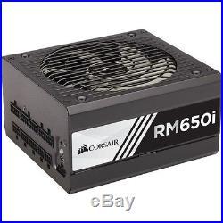 Corsair RM650i 650 Watt 80 PLUS Gold Certified Fully Modular Power Supply