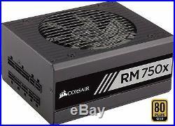 Corsair RM750x PC Netzteil (Voll-Modulares, 80 Plus Gold, 750 Watt, EU)
