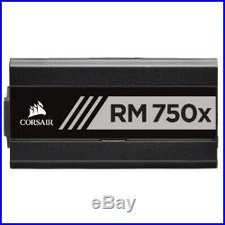 Corsair RM750x Power Supply Unit, 750 Watt 80+ Gold Fully Modular
