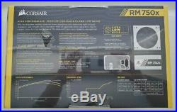 Corsair RM750x White Series, 750 Watt, Fully Modular Power Supply