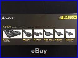 Corsair RM850X 850W fully modular Power Supply 80 Plus Gold
