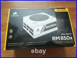 Corsair RM850x Modular Power Supply, White, new in original box