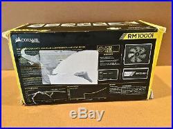 Corsair RMI Series ATX Power Supply NEW 1000 Watts 80 PLUS Gold RM1000i Box Torn