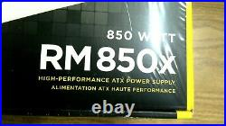 Corsair RMX White Series (2018), RM850x, 850 Watt, 80+ Gold Certified, Fully Mod