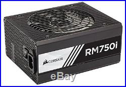 Corsair RMi Series, RM750i, 750 Watt (750W), Fully Modular Power Supply, 80+