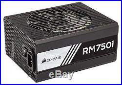 Corsair RMi Series, RM750i, 750 Watt 750W, Fully Modular Power Supply, 80+ Gold