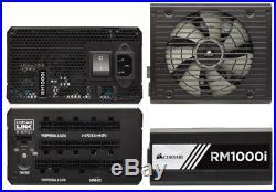 Corsair RMi Series Rm1000i Power Supply 1000 watt 80 Plus Gold Fully Modular ATX