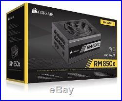 Corsair RMx 850W 80+ Gold Certified Fully-Modular ATX Power Supply