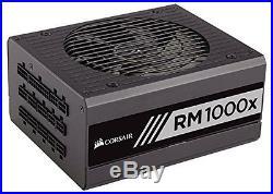 Corsair RMx Series, RM1000x, 1000W, Fully Modular Power Supply, 80+ Gold