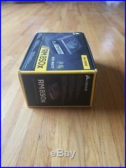 Corsair RMx Series RM850x 80+ gold power supply PSU 850W modular CP-9020180-NA