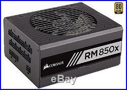 Corsair RMx Series, RM850x, 850W, Fully Modular Power Supply, 80+ Gold Certified