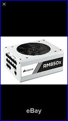 Corsair RMx White 850 W 80+ Gold Certified Fully-Modular ATX Power Supply