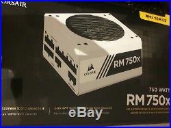 Corsair RMx White Series RM750x 750W 80 PLUS Gold Fully Modular PSU Power Supply
