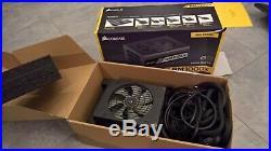 Corsair Rm1000x 80+ Gold 1000w Modular Power Supply Cp-9020094-uk Psu