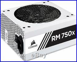 Corsair Rm750X Pc-Netzteil Voll-Modulares Kabelmanagement, 80 Plus Gold, 750 Wa
