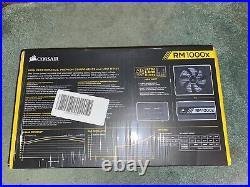 Corsair Rmx Series Rm1000x 1000 Watt 80plus Gold Certified Power Supply Atx12v