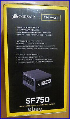 Corsair SF Series SF750 750 Watt 80 Plus Platinum Certified
