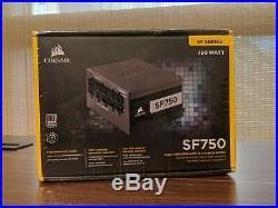 Corsair SF Series SF750 750W 80+ Platinum Certified SFX PSU (CP-9020186-NA)