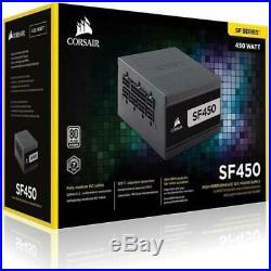 Corsair SF450 450W SFX Black power supply unit SF450 450 W 9.2 cm 1 fans Top Act