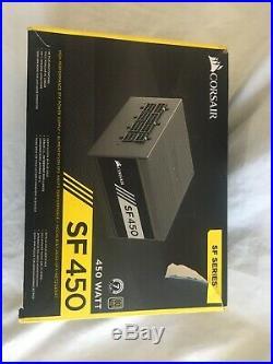 Corsair SF450 80 Plus Gold Modular SFX Power Supply 450W OPEN BOX