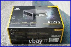 Corsair SF750 750 Watt SFX 80+ Platinum Certified SFF PSU, Brand New