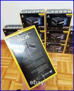 Corsair SF750 750 Watt SFX 80+ Platinum Certified SFF PSU Power Supply New