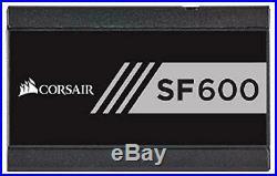 Corsair Sf Series, Sf600, 600 Watt, Sfx, 80+ Gold Certified, Fully Modular Power