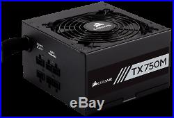 Corsair TX750M 750W 80 Plus Gold Semi Modular Power Supply (CP-9020131-EU)