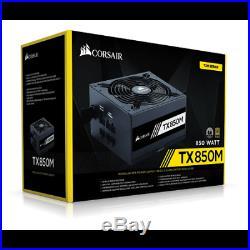 Corsair TX850M Power Supply Unit, 850 Watt 80+ Gold Semi Modular