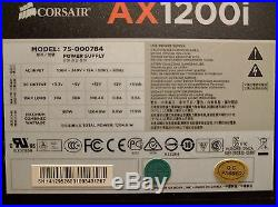 Corsair ax1200i Fully Modular Power Supply