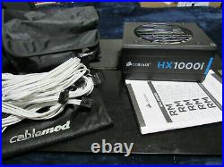 Corsair hx1000i 1000w With Cable Mod kit