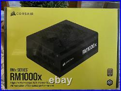 FAST SHIPPING BRAND NEW CORSAIR RM1000X 1000w 80PLUS GOLD PSU ATX12V