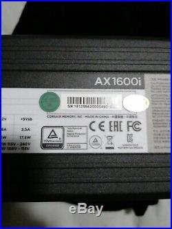 FUENTE ALIMENTACION CORSAIR AX1600I 1600W 80 PLUS Titanium